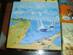 moře Painting, Art, Art Background, Painting Art, Kunst, Gcse Art, Paintings, Painted Canvas, Art Education Resources