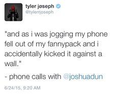 I love his tweets haha