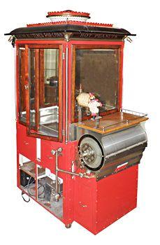 Very rare Cretors Model 401 popcorn machine. Mosby & Co. image.