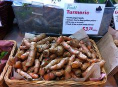 Fresh Turmeric! Good for your brain.