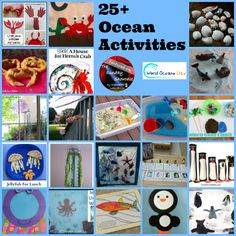 25+ Ocean Activities - Celebrating World Oceans Day on The Sunday Showcase at Inspiration Laboratories
