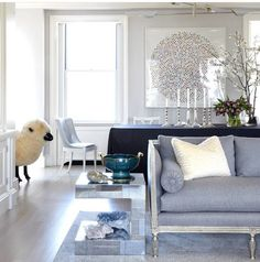 Perfect color on sofa