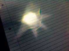Sunlight. Rainbows.