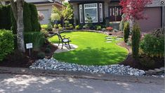 Award-winning landscaper, Scotty, provides modern landscaping design in South Surrey / White Rock, BC and the lower mainland. Showcase your property with stone walls, colourful garden beds and accent trees. ScottysLandscaping.com Commercial Landscaping, Modern Landscaping, Landscaping Design, Front Yard Landscaping, Modern Front Yard, Natural Stone Wall, Tiered Garden, Professional Landscaping, Unique Plants
