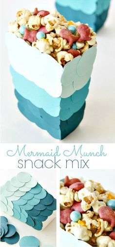 Mermaid Munch Snack