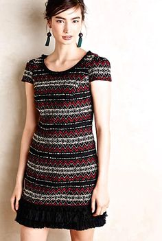 NWOT $168 Anthropologie Vanessa Virginia Jinete Blanket Tunic Dress EU 48  US 18 #VanessaVirginia #sheathdress #versatile