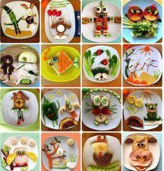 pomysłowe kanapki dla dzieci - niejadków :D