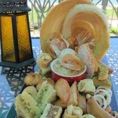 Collection of Oriental pastries