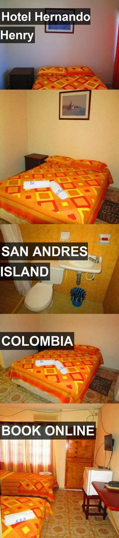 Hotel Hernando Henry in San Andres Island, Colombia. For more information, photos, reviews and best prices please follow the link. #Colombia #SanAndresIsland #travel #vacation #hotel