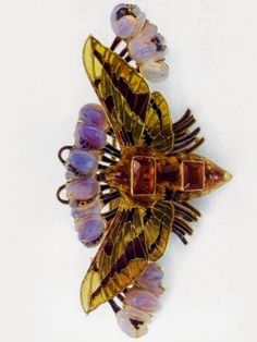 René Lalique Moth Pendant