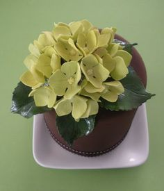 The Petalsweet Blog: HYDRANGEA TUTORIAL PART THREE by Petalsweet Cakes