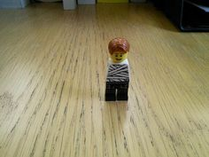 A lego representation of The Man With No Arms in honour of the Fifty year Sword.