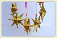Christmas Stars 2 PrePackaged Stars Individually by PricklyPaw, $14.00