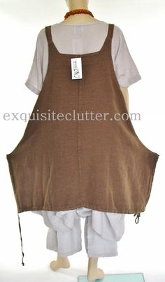 The Big Pocket Pinafore Dress | Exquisite Clutter
