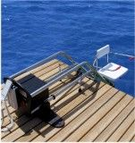 Poolpod Is A Submersible Swimming Pool Platform Lift May Be Used With Pool Chair Or While