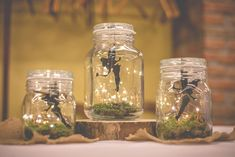 Peter Pan Neverland Party - DIY - Beleuchtung - - My list of the most creative garden decorations Boda Peter Pan, Fête Peter Pan, Peter Pan Party, Peter Pan Games, Peter Pan Disney, Fairy Birthday Party, Garden Birthday, First Birthday Parties, Tinkerbell Party Theme