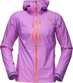 Superlight, packable and waterproof hooded jacket from Norrøna.