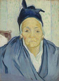 An Old Woman of Arles, 1888, Vincent van Gogh, Van Gogh Museum, Amsterdam…