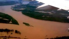 Масштаб наводнения в районе Барнаула (видео) » MEGABITOV.NET