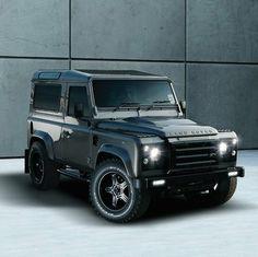 One badass Land Rover.