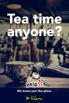 Forget coffee, sometimes you just want a steaming cup of tea. Install Yelp and discover hidden gems in your neighborhood. With over 100 million reviews worldwide, Yelp is the place to find the newest and hottest restaurants in your area.