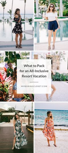 What to pack for an all-inclusive resort vacation: here are some great outfit ideas for your next beach vacation or trip to Mexico! vacation outfits mexico What to Pack for An All-Inclusive Resort Vacation Cancun Outfits, Mexico Vacation Outfits, Tropical Vacation Outfits, Jamaica Outfits, Outfits For Mexico, Honeymoon Outfits, Beach Outfits, Tropical Vacations, Tropical Beaches