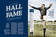 2014 AFL Record Round 12 | Hall Of Fame 2014 | Publication Spread