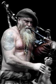 Charlie Allen of 'Saor Patrol' - T'is said that a man in a kilt is a man & a half