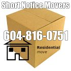 Short Notice Movers Provides Comprehensive Moving & Packing Services in the Vancouver area, including Burnaby, Coquitlam, Surrey, Vancouver, Maple Ridge, New Westminster, North Vancouver District, Port Coquitlam, North Vancouver City, Port Moody, West Vancouver, White Rock, Delta, Pitt Meadows, Abbotsford, North Delta, Delta, Chilliwack, Cloverdale, Ladner, Mission, Richmond, Langley and throughout BC.