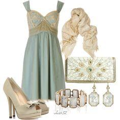 """""""Slip Dress"""" by christa72 on Polyvore"""