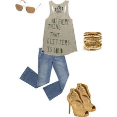 """Night Out"" by jenniebaker on Polyvore"