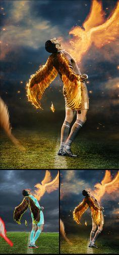 Eagles on Behance Fire Works, Eagles, Digital Art, Illustration Art, Behance, Photoshop, Graphic Design, Movie Posters, Eagle