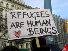 REFUGEES - HUMAN BEINGS - SYRIAN WAR They are our brothers and sisters.