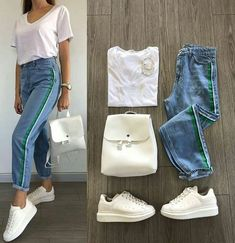 movie date outfit Spring Outfits, Trendy Outfits, Kids Outfits, Cool Outfits, Fashion Outfits, Womens Fashion, Ladies Fashion, Mode Ootd, Mode Hijab
