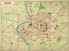 1914 - Nowy plan Krakowa