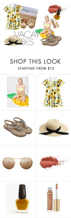 """""""Vacayeay!"""" by bedwinargd on Polyvore featuring Sunnylife, Alexander McQueen, J.Crew, outfit, beach, hangout, greatlooks and vacayoutfit"""