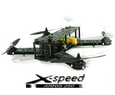 ARRIS X-Speed FPV250 Pure Carbon Fiber FPV Racing Quadcopter BNF (Assembled)