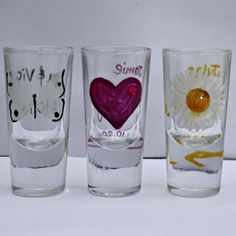 Shot glass favours - available from www.thegbwedding.com