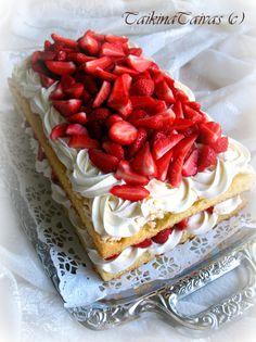 Mansikkabritakakku, Daimhyydykekakku ja täytettyjä marenkeja - TaikinaTaivas - Vuodatus.net - Food And Drink, Pie, Favorite Recipes, Baking, Desserts, Torte, Tailgate Desserts, Cake, Deserts