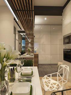 Interior Desing, Interior Modern, Interior Styling, Interior Architecture, Living Room Flooring, Living Room Kitchen, Dining Room Design, Kitchen Design, Kitchen Interior