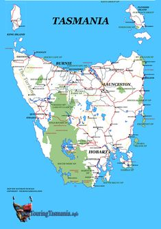 Visit Tasmania where my dear sister, Jennie, her husband Selfy, baby Tyler and Buster the dog live :) St Columba, Australia Map, Next Holiday, World View, Being In The World, Travel Maps, Tasmania, Holiday Destinations, Small Towns