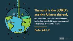 Psalm 24:1 (NRSV) - Biblia.com