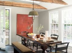 Wish AF-680 by Benjamin Moore paired with Chalk White 2126-70