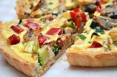 Quiche cu legume si pui ⋆ Happy Cooks by Irina & Andreea Happy Cook, Quiche Lorraine, Yams, Vegetable Pizza, Hawaiian Pizza, Cooking Recipes, Easy Recipes, Food To Make, Good Food