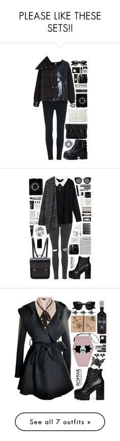 """""""PLEASE LIKE THESE SETS!!"""" by scarlett-morwenna ❤ liked on Polyvore featuring The Cambridge Satchel Company, Natasha Couture, Tom Ford, NARS Cosmetics, Topshop, Aesop, Byredo, Casetify, Make and Quay"""