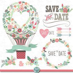 Illustration of Vintage Flowers Hot Air Balloon vector art, clipart and stock vectors. Ballon Illustration, Floral Frames, Clip Art Vintage, Valentine Theme, Frame Wreath, Logo Sticker, Flower Frame, Hot Air Balloon, Business Card Logo
