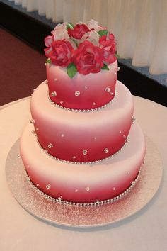 Wedding Cakes...pretty idea