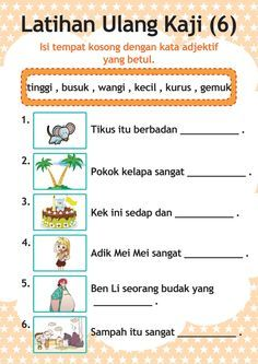 Kindergarten Reading Activities, Free Kindergarten Worksheets, Preschool Writing, Kindergarten Math Worksheets, Worksheets For Kids, Preschool Activities, Preschool Printables, Malay Language, Tutoring Business