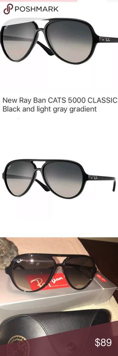 6352ea575415 Ray-Ban Cats 5000 Classic Aviators Sunglasses These Ray-Ban s are store