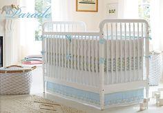 Designer Bedding for Baby Boy Nursery | Serena & Lily
